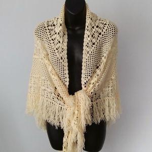 Handcrafted Crochet Wrap